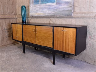 Ebonized Teak Sideboard