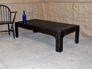 Vintage Water Tank Coffee Table
