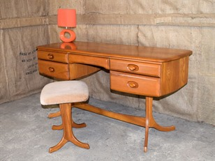 Mid Century Ash Dressing Table