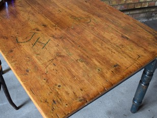 Graffiti School Work Table