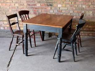 Old School Table and Chairs