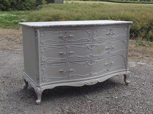French Louis XVI Commode Chest