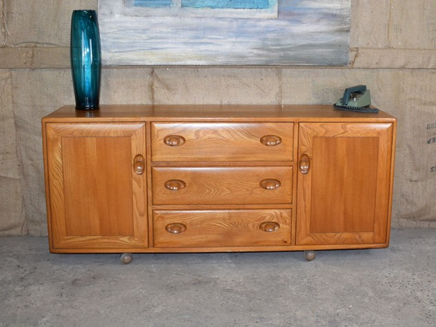 Ercol Light Elm Windsor Sideboard