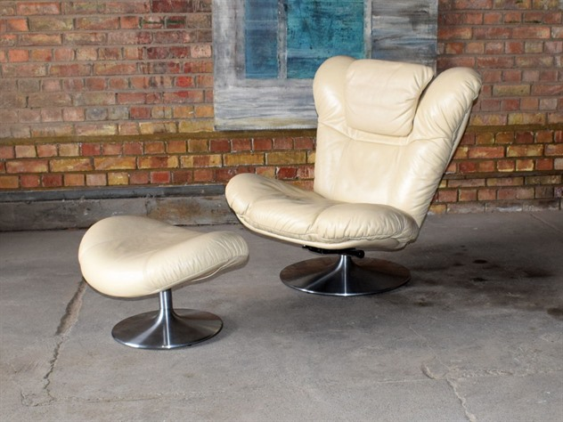 G Plan Leather Chair